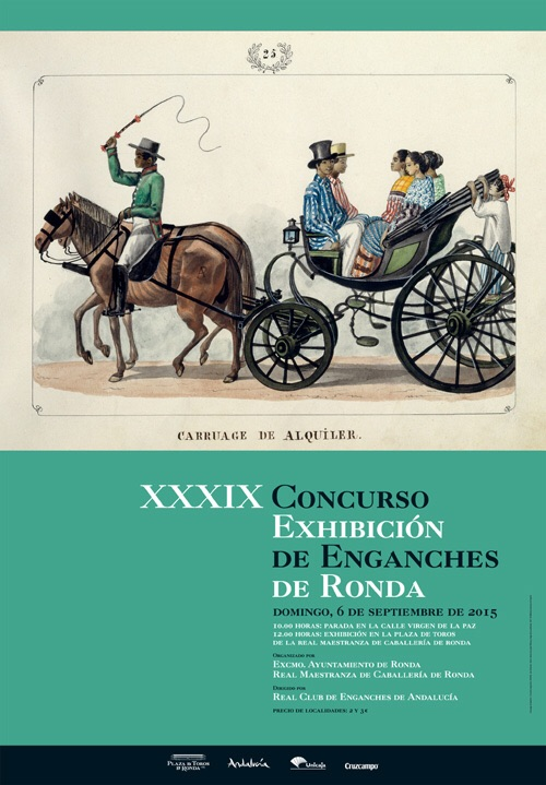 XXXix cONCURSO eXHIBICION DE ENGANCHES AT RONDA
